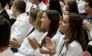 Medizinstudenten in Pecs