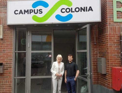 Besuch von Kölner Bürgermeisterin Elfi Scho-Antwerpes