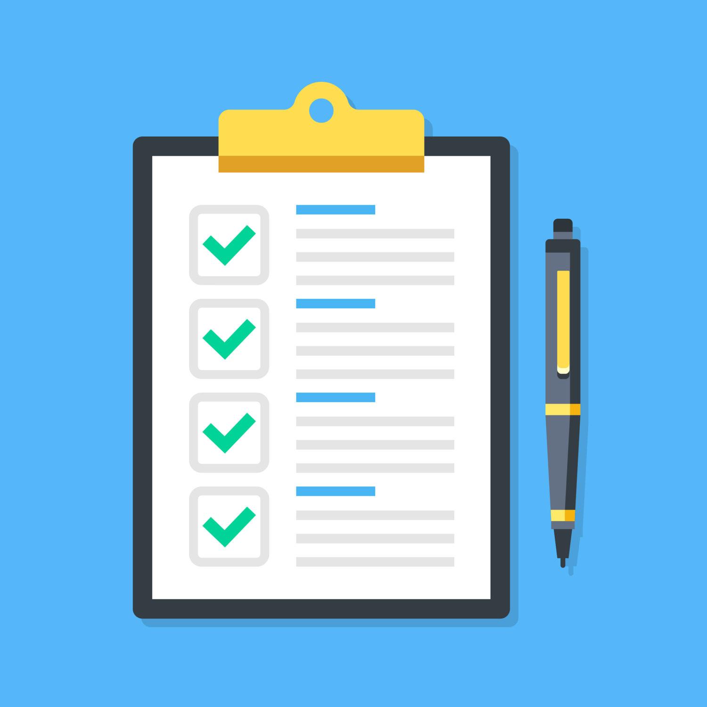 Checkliste Studium